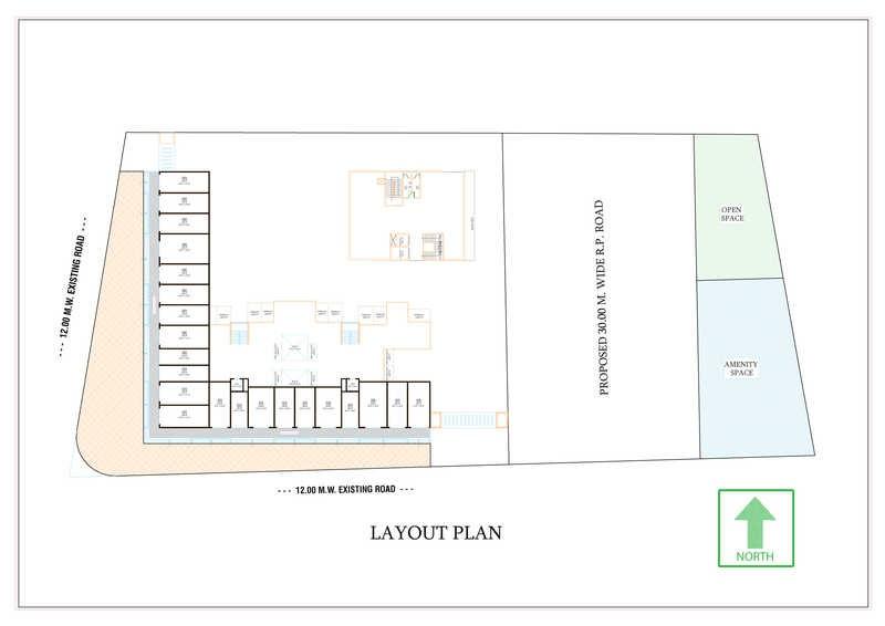 shriram l square master plan image4