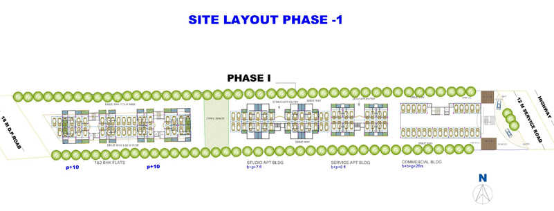 shroff signature heights master plan image5