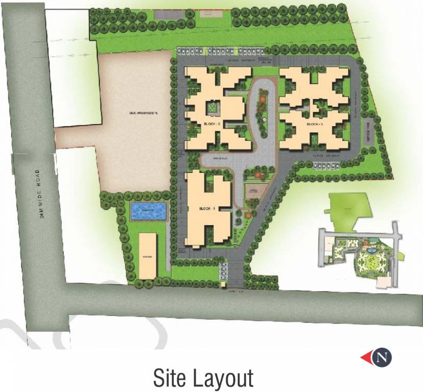 sobha garnet project master plan image1