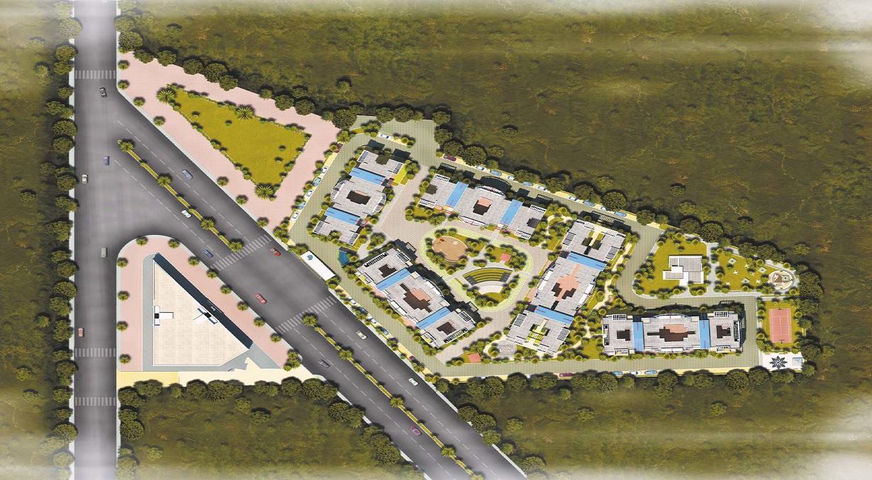 sukhwani scarlet project master plan image1