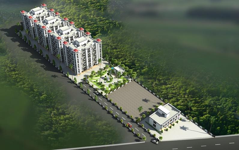 tanish vatika project master plan image1