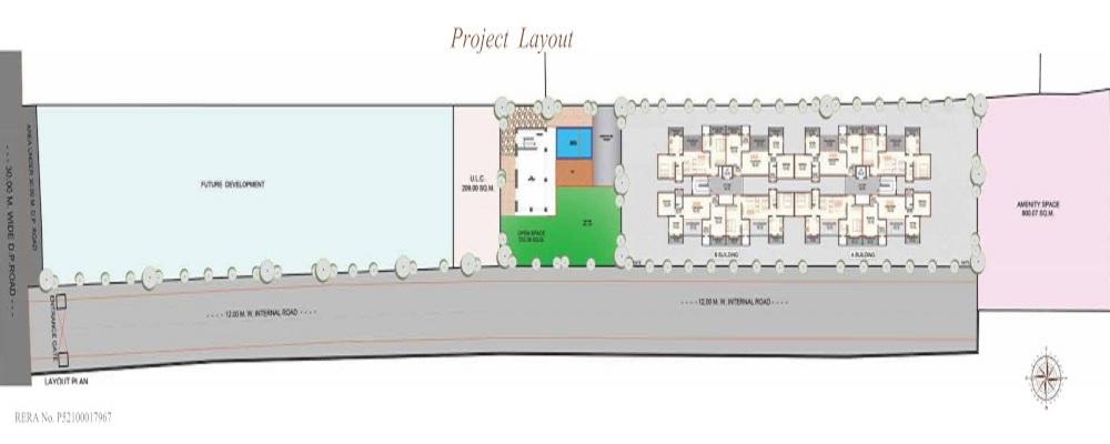 tapashree 45 paramount project master plan image1