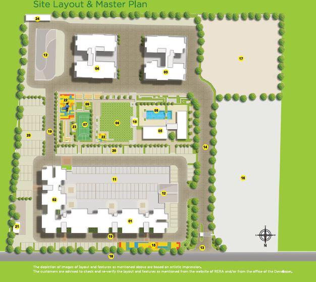 vascon citron phase ii master plan image1