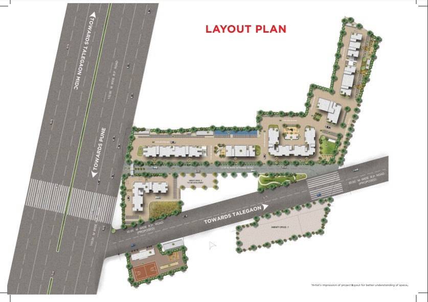 vascon goodlife phase a project master plan image1