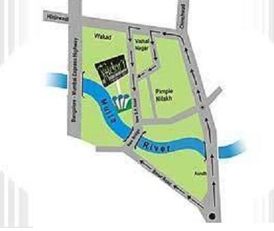 vikram midori towers project location image1