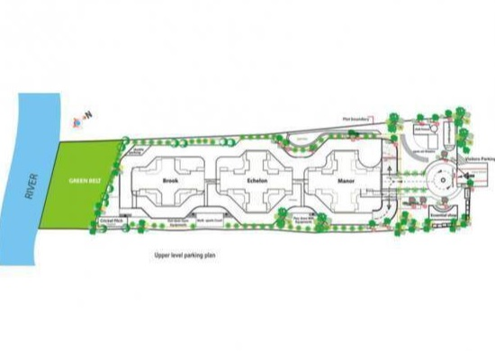 vikram midori towers project master plan image1