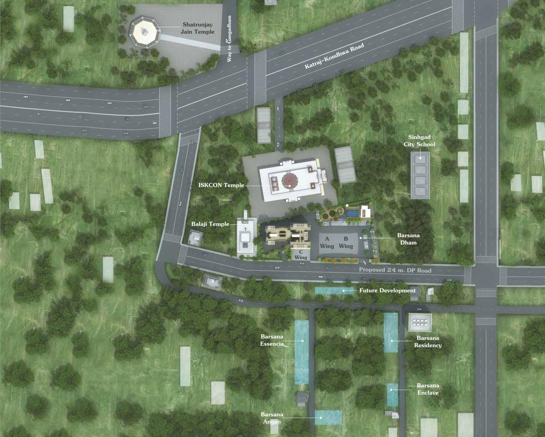 vrindavan barsana dham project master plan image1