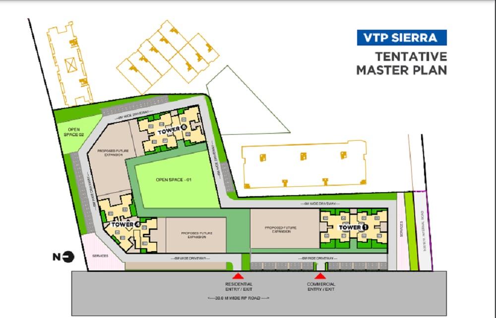 vtp sierra phase1 project master plan image1