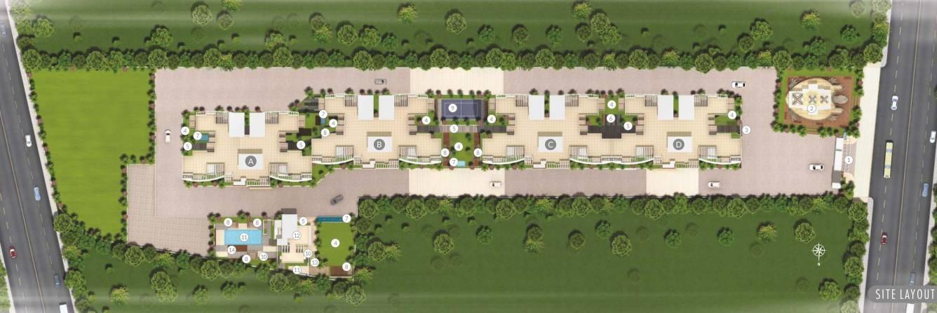 yuvraj rajgruhi residency project master plan image1