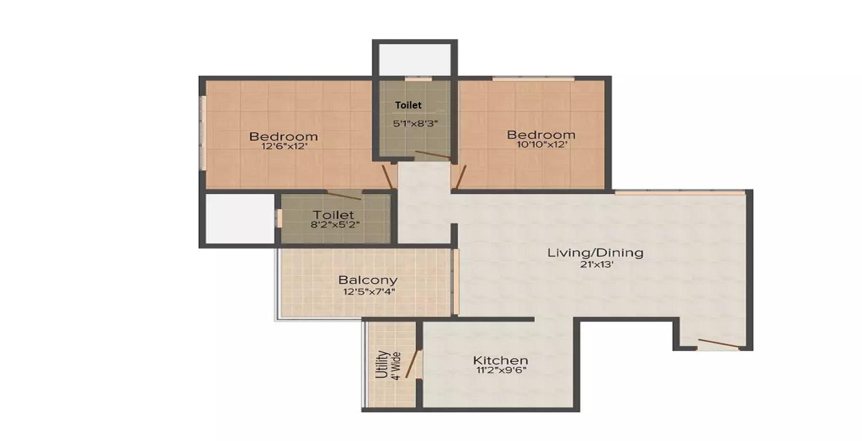 abil imperial apartment 2bhk 1255sqft51