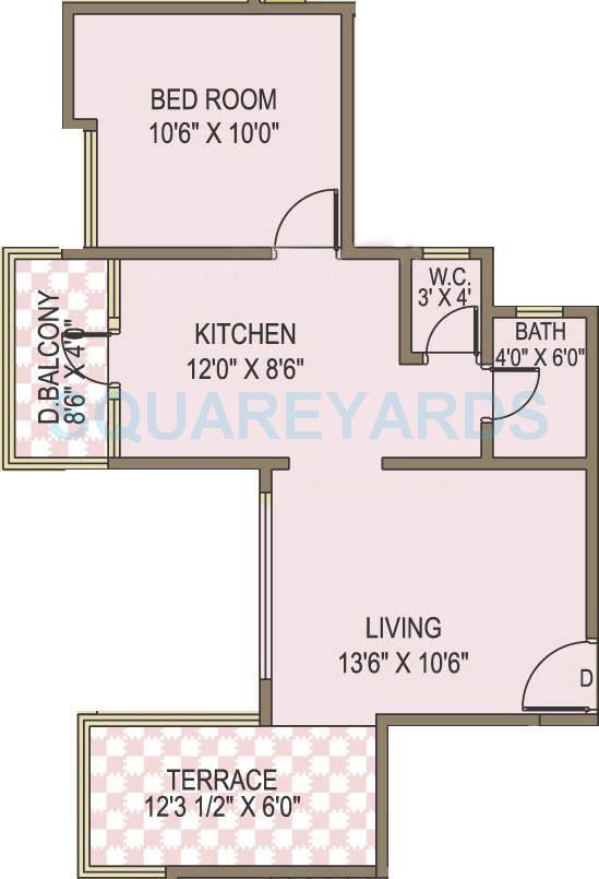 acme selene apartment apartment 1bhk 650sqft 10002