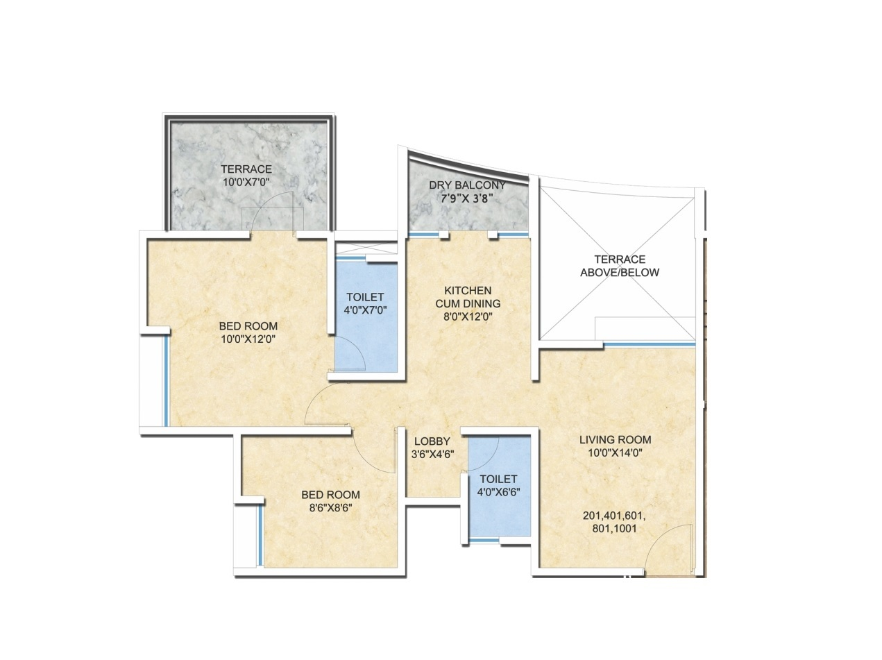 arg krishnas blessings apartment 2 bhk 518sqft 20211317141332