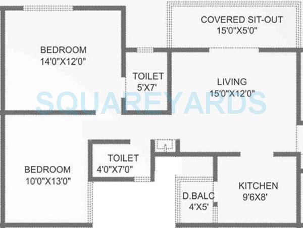 bhujbal eternity apartment 2bhk 1030sqft 10514