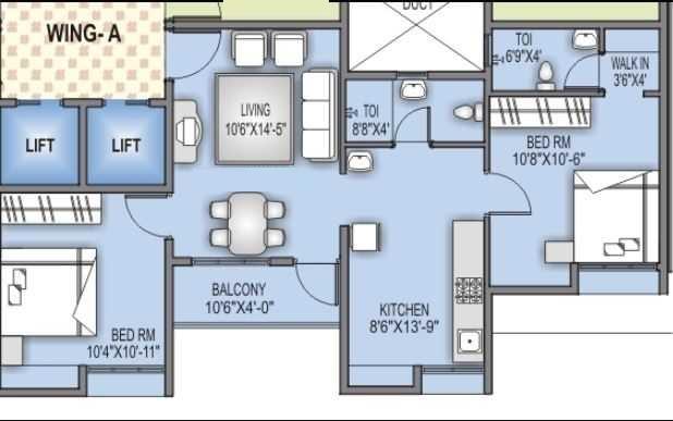 bora ville phase ii apartment 2 bhk 643sqft 20213203173235