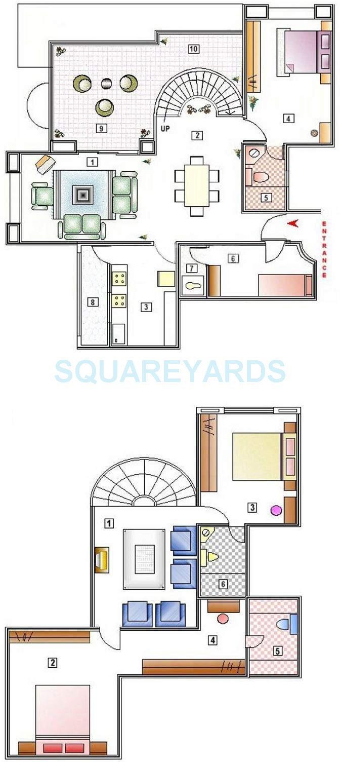 clover highlands apartment 3bhk 2235sqft 11649