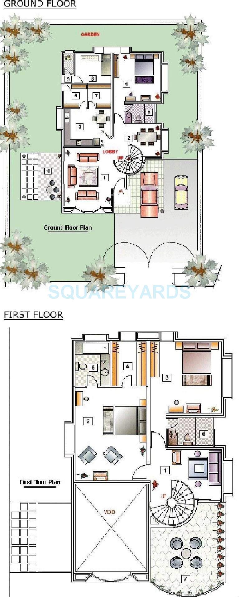 clover hills villa 3bhk 2880sqft 11603