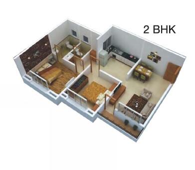 dajikaka gadgil anantsrishti apartment 2bhk 831sqft 1