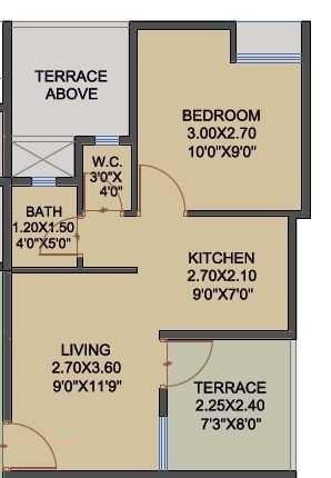 espree reverie phase 2 apartment 1 bhk 361sqft 20210910110925