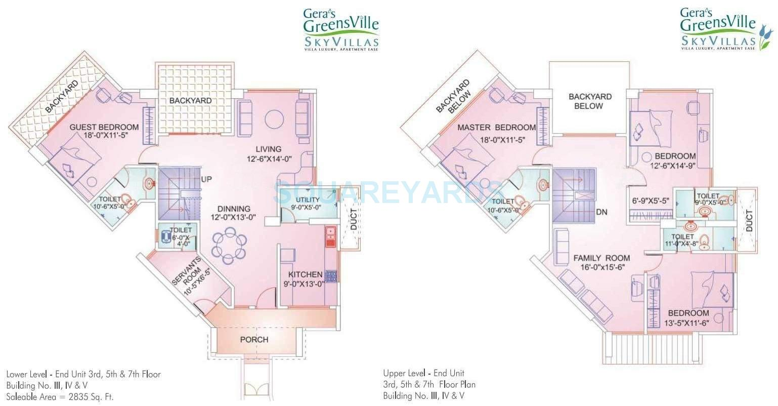 gera greens ville sky villas apartment 4bhk 2835sqft1