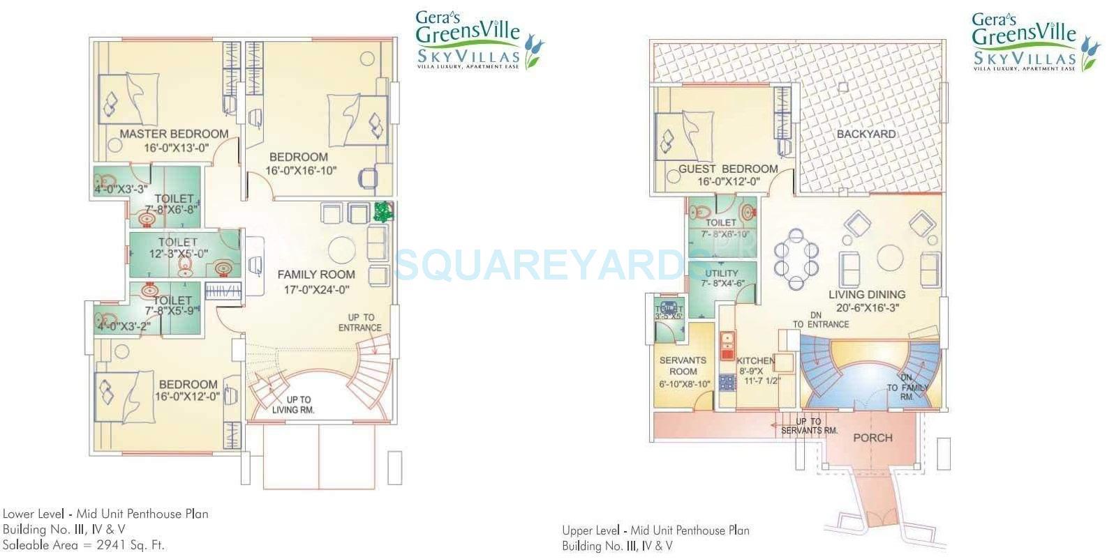 gera greens ville sky villas apartment 4bhk 2941sqft1