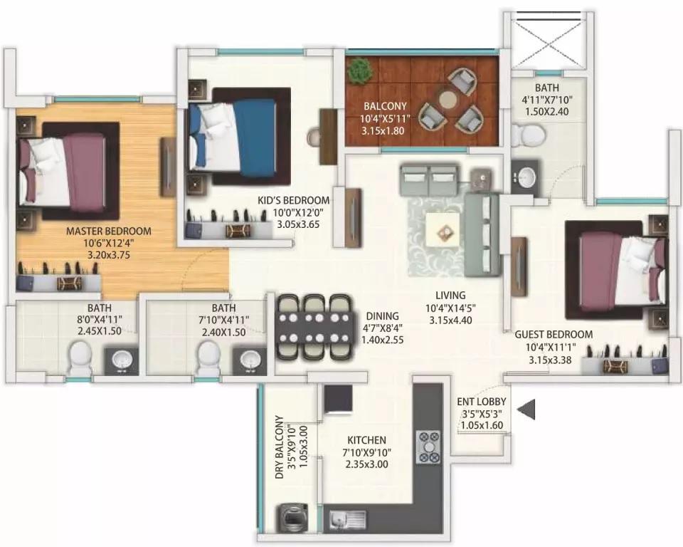 geras world of joy s apartment 3bhk 842sqft31