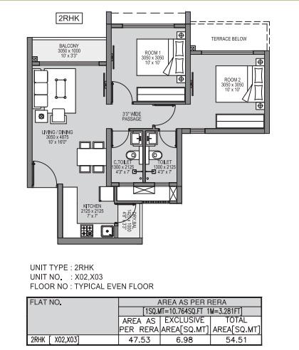 godrej forest grove apartment 2bhk 587sqft01