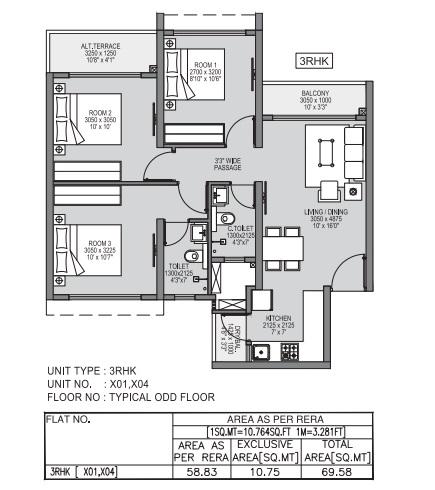 godrej forest grove apartment 3bhk 749sqft31