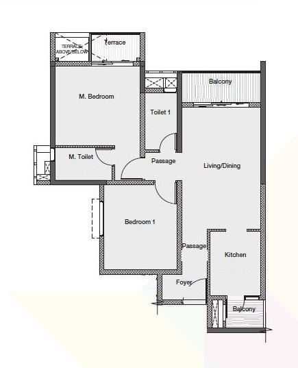 godrej nurture pune apartment 2bhk 832sqft61