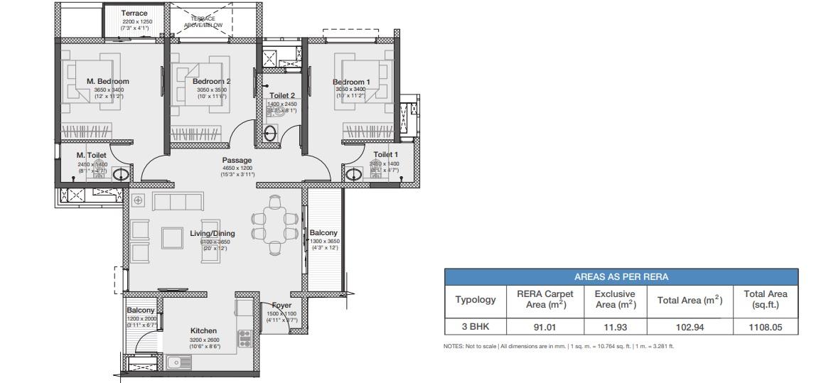 godrej nurture pune apartment 3bhk 1108sqft51
