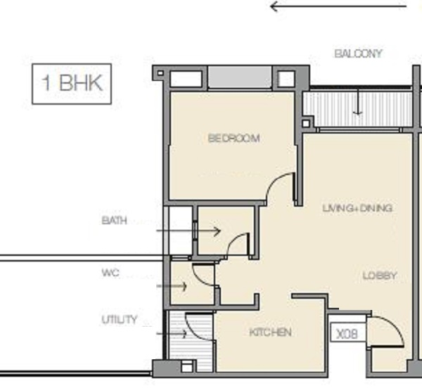 godrej prana apartment 1 bhk 496sqft 20215402135419