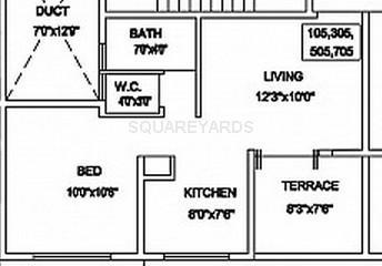 goel ganga group gyanganga apartment 2bhk 745sqft1