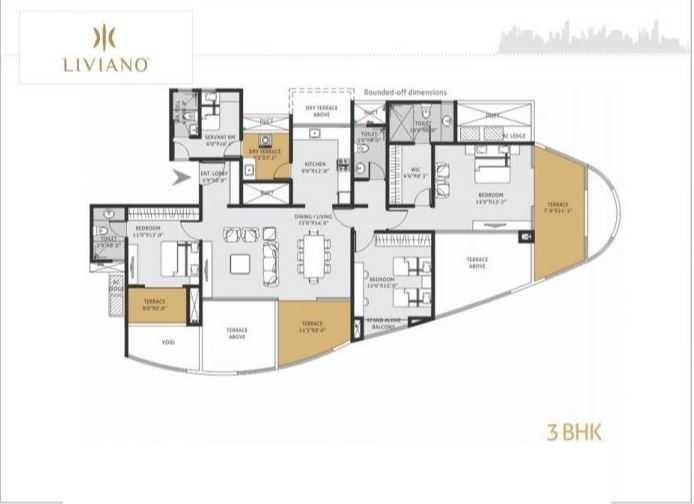 goel ganga liviano apartment 3 bhk 1086sqft 20215514145547