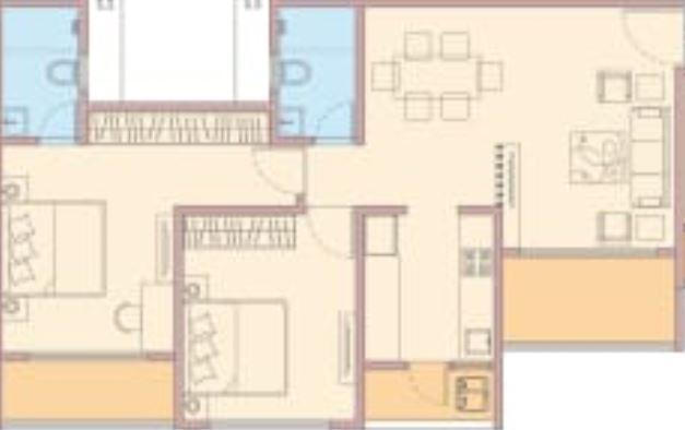 goel ganga newtown phase 2 apartment 2bhk 670sqft41