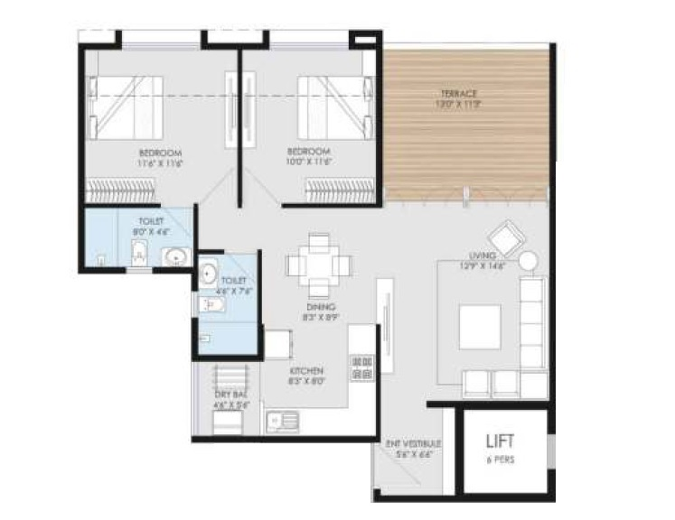goel ganga utopia apartment 2 bhk 761sqft 20212801172847