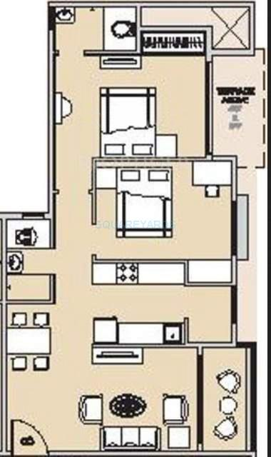 hubtown countrywoods apartment 2bhk 1122sqft 10593