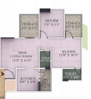 jain rio greens apartment 2 bhk 615sqft 20213403153430