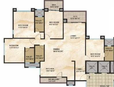 kolte patil 24k glamore apartment 4 bhk 2100sqft 20215110125106