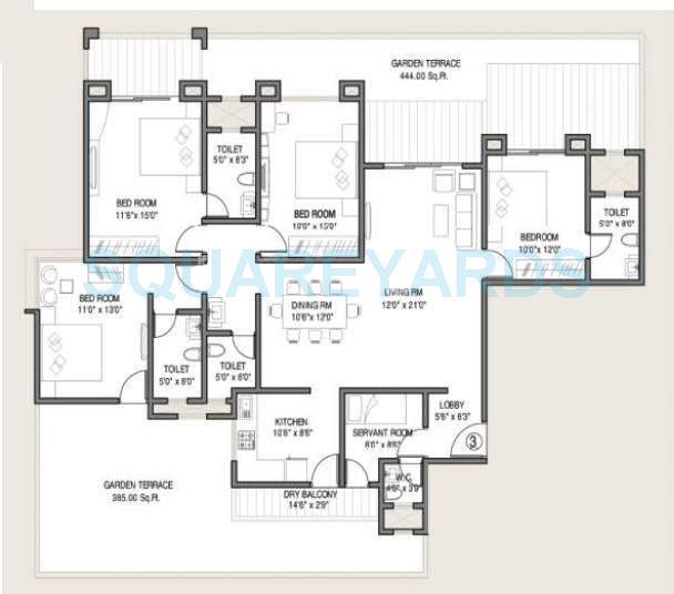 kolte patil allura apartment 4bhk 2625sqft 10243