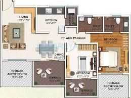 kolte patil ivy apartments apartment 3bhk 1565sqft1