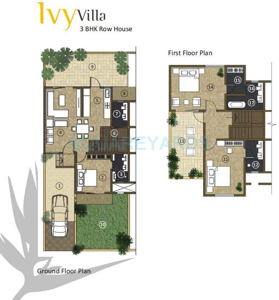kolte patil ivy villa villa 3bhk 2290sqft 11032