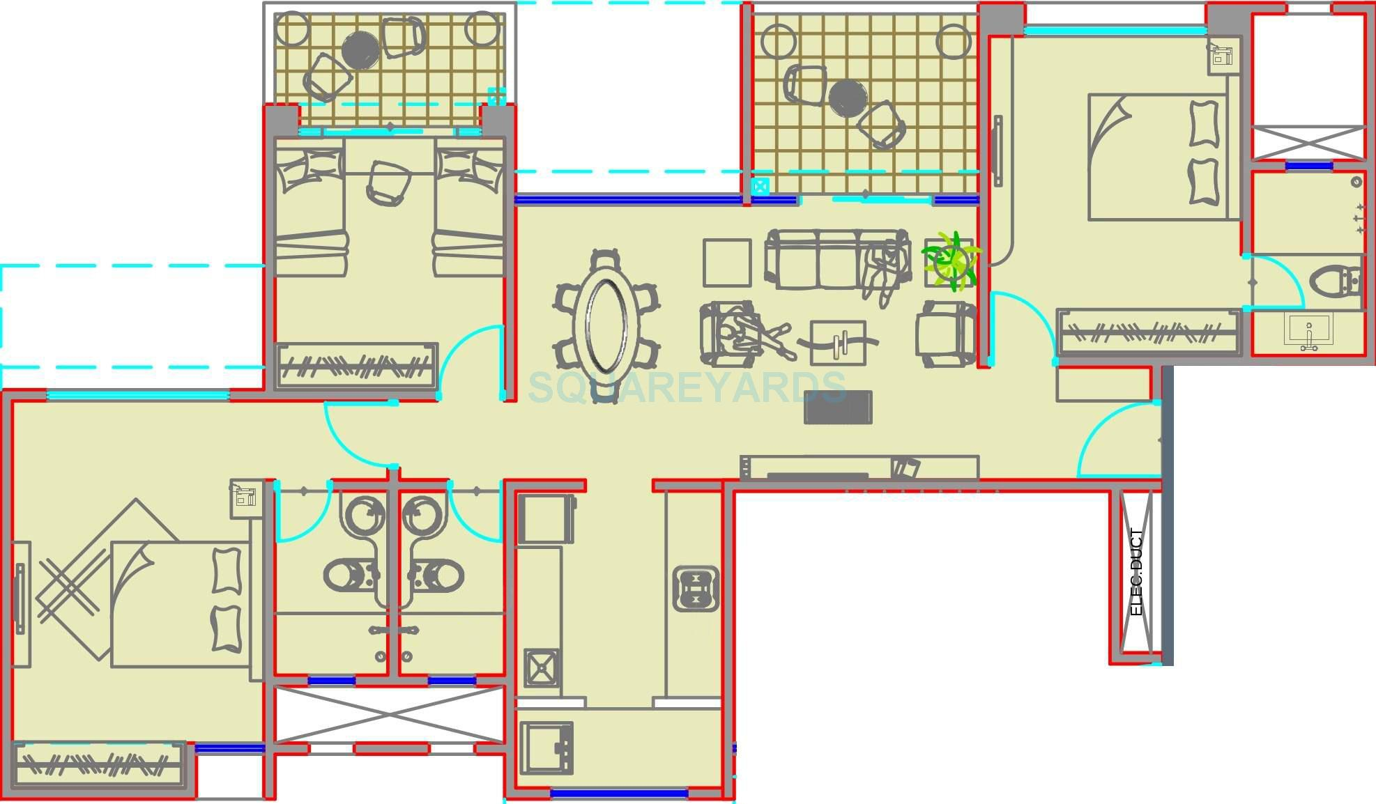 kolte patil stargaze apartment 3bhk 1468sqft 10322