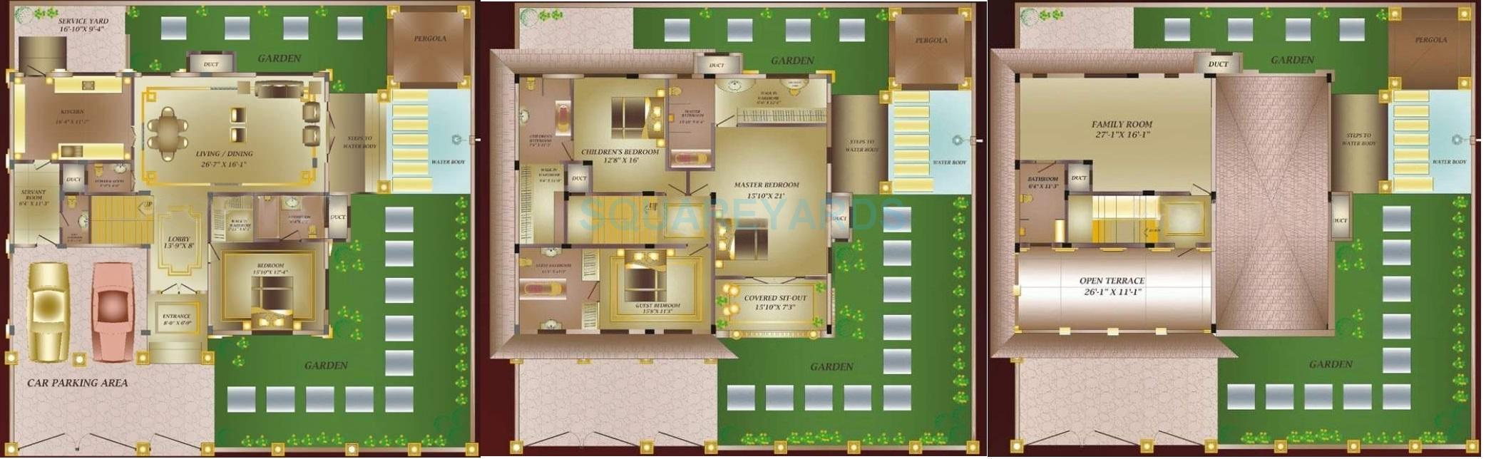 konark villa espaniol villa 4bhk 4800sqft1