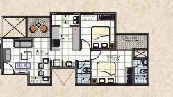 krisala 41 earth apartment 2 bhk 655sqft 20203405163437