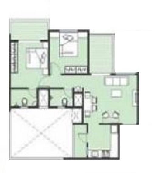 krisala 41 elite 2 apartment 2 bhk 825sqft 20214004144031