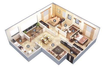 kumar prajwal apartment 2bhk 710sqft 1