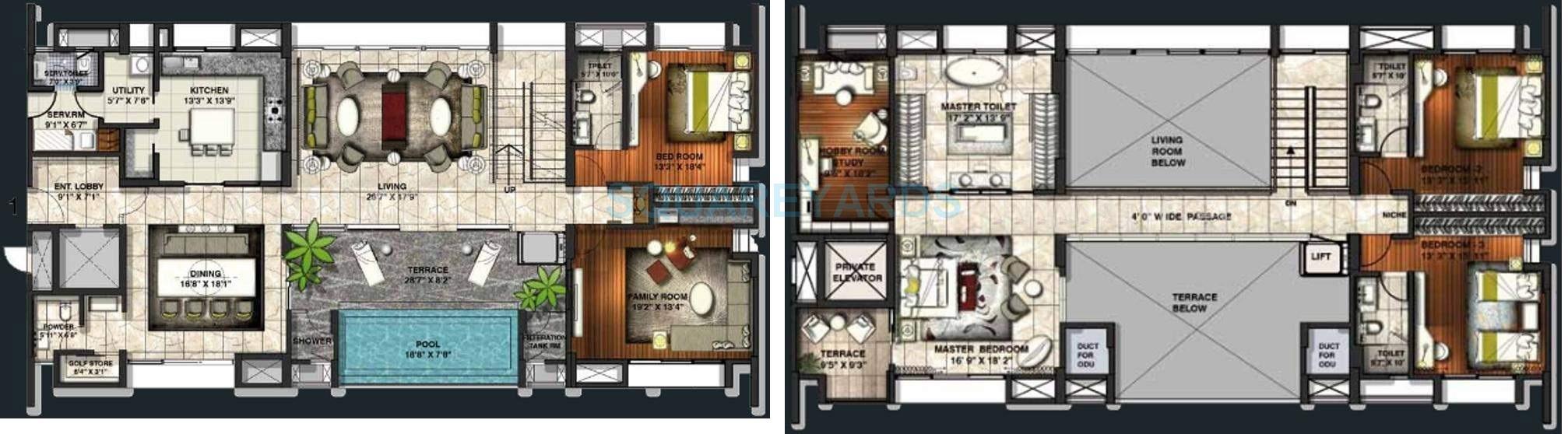 lodha belmondo apartment 4bhk 5700sqft1