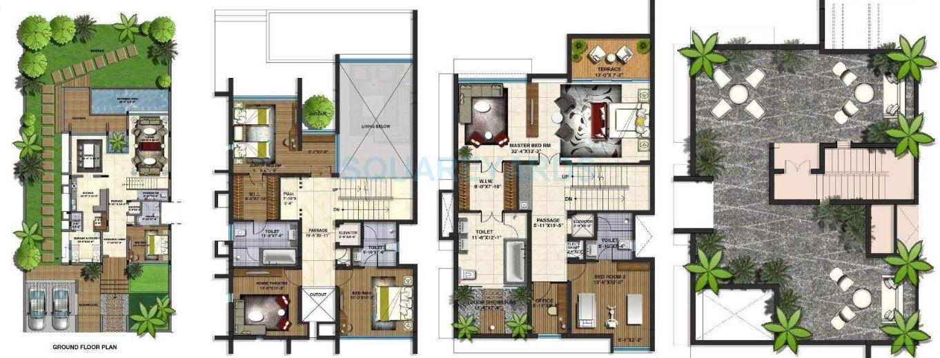 lodha belmondo villa villa 4 bhk 3652sqft 20200023090050