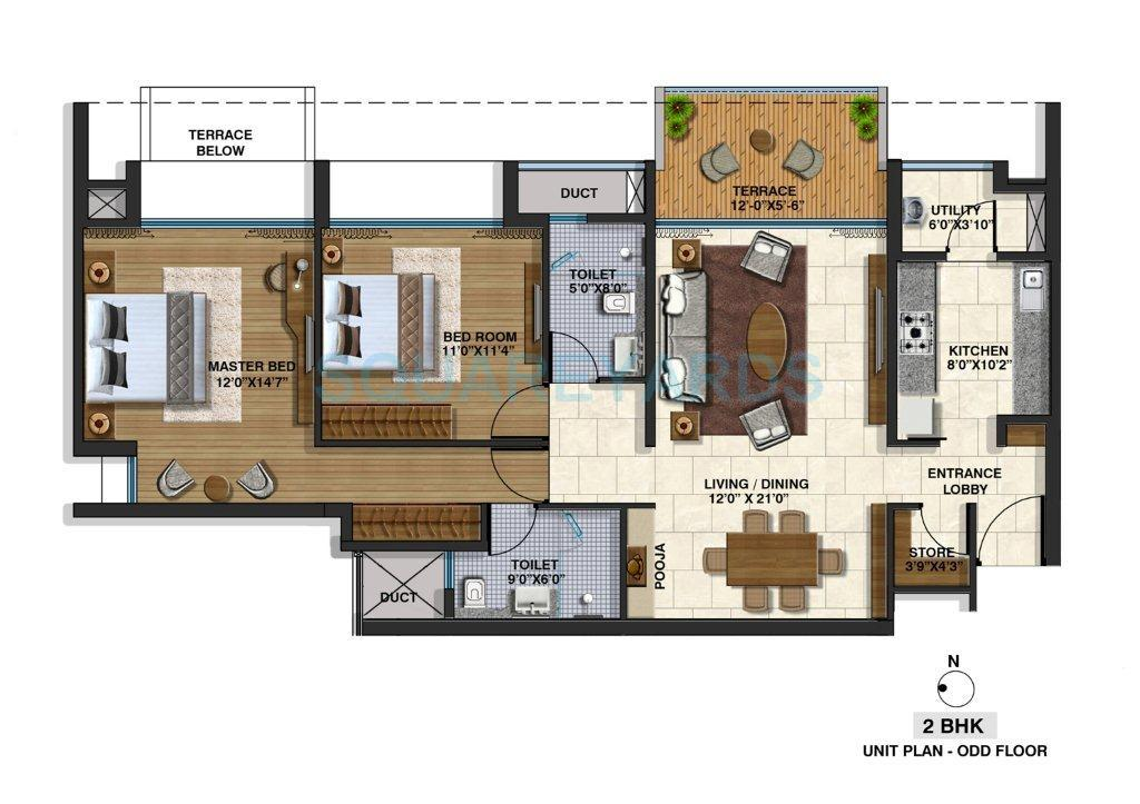 lodha riviera apartment 2bhk 1323sqft 1