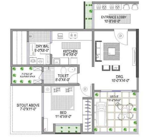 lunkad 150 freeway apartment 1 bhk 785sqft 20200730100754