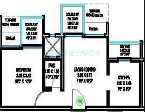 lushlife centro apartment 1bhk 635sqft 1